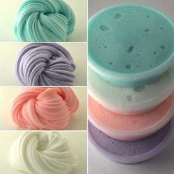 Моделирование глины Новая мода Пушистый Floam слизи Ароматические снятие стресса без Borax детские игрушки осадка для детей подарок