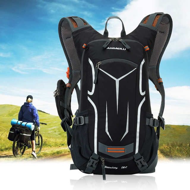 18L Bicycle Backpack 5Colors Outdoor Sport Travel Hiking Rucksack Road MTB Cycling Water Bottle Bag Waterproof Backpack Mochila