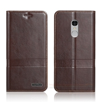 Retro Simple Genuine Leather Case For Xiaomi Redmi Note 4 Redmi Note4 Pro Prime 5 5