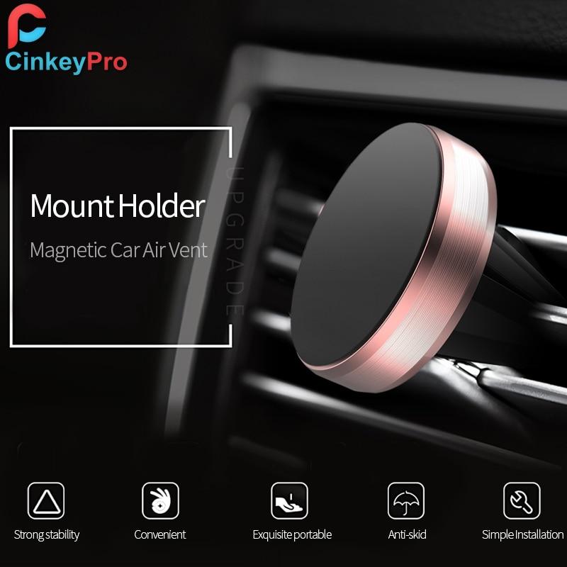 CinkeyPro magnetisk bilhållare för iPhone Samung mobiltelefon - Reservdelar och tillbehör för mobiltelefoner - Foto 2