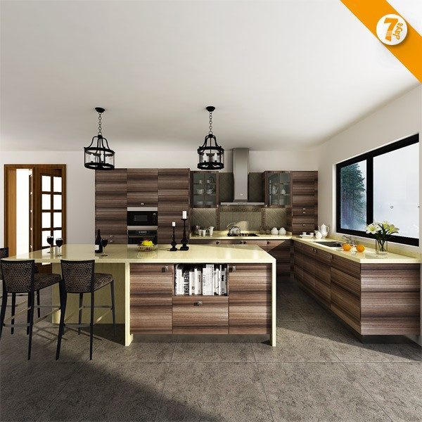 7 días entrega inteligente hogar madera Muebles cocina producto op14 ...