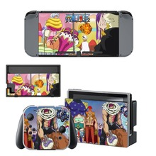 Anime One Piece Skin Sticker For Nintendo Switch NS Console and Controller