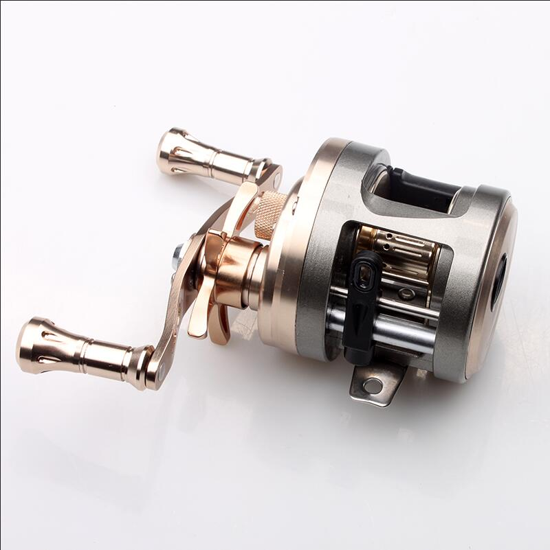 KAWA New Fishing Reel,Cast Drum Wheel, Bait Casting Reel,Max Drag 7kg,9+1 Bearing Aluminum Alloy,Sea Fishing Reel,Free Shipping 1pc new aluminum alloy fishing reel water resistant carbon drag spinning reel larger spool max drag 20kg for sea fishing wheel