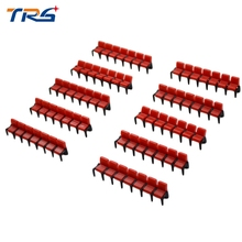 Teraysun New 1:75 Scale Film Chair 20pcs Miniature Model for Cinema Scenery