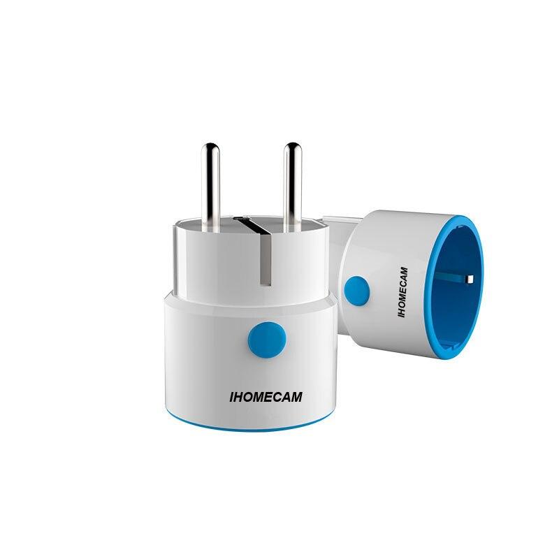 Z wave Wireless EU Smart Power Plug Socket Compatible with Zs