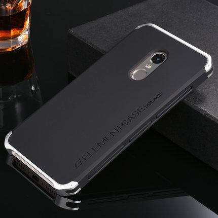 imágenes para Casos de teléfono Para Xiaomi Redmi Nota 4 Del Metal de Aluminio 3 en 1 Estilo Para Xiaomi Redmi Nota 4 Caja Del Teléfono Móvil