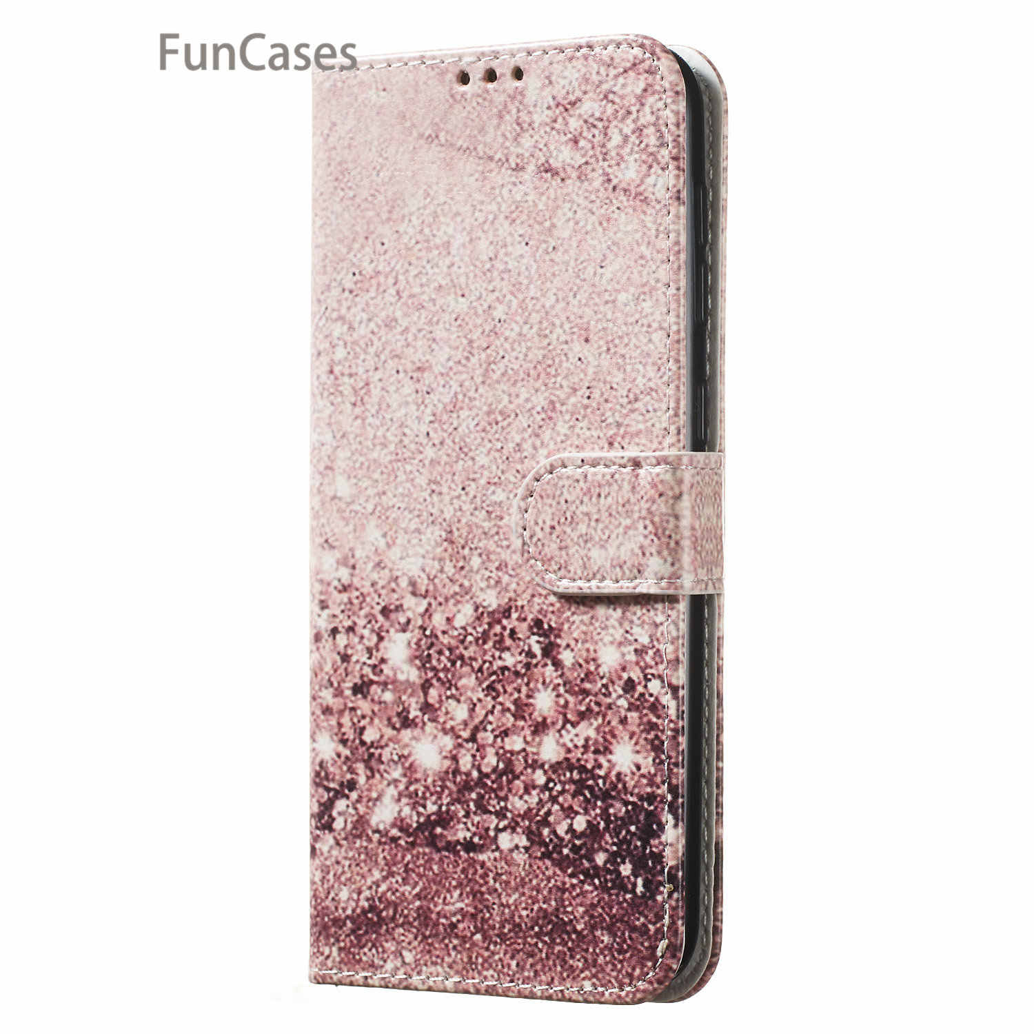 Black Gold Cases For accesorios Samsung A70 PU Leather Flip Phone Bag Cover sFor Samsung Galaxy capinha A10 A20 A30 A40 A50 A60