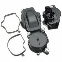 Engine Breather Separator Ventilation Valve Kit Crankcase Oil Filter 11127799224 for BMW 3 Series E46 E61 E81E 90 E83 1995