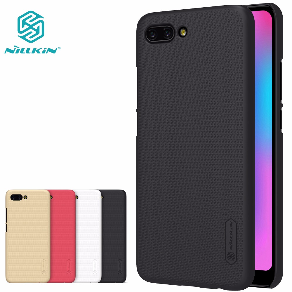 Case voor Huawei Honor 10 NILLKIN Super Frosted Shield Achterkant Honor 10 Case