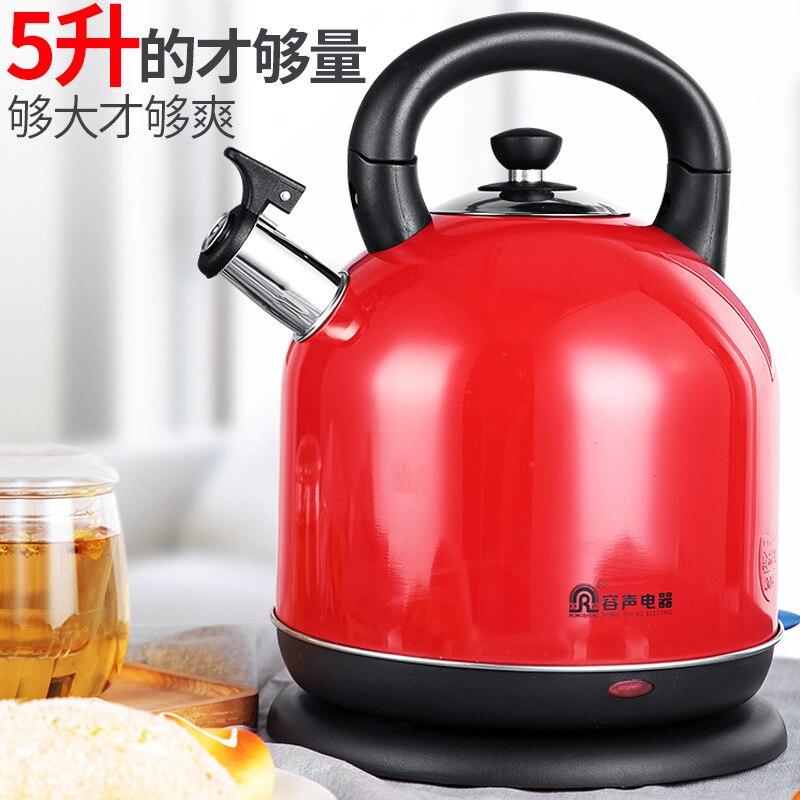 Bouilloire à thé électrique appareils de cuisine 5L bouilloire électrique pot de santé appareils de cuisine bouilloire électrique théière kazan pot
