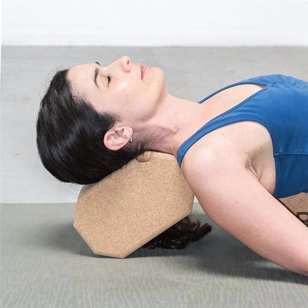 Cork Wood Yoga Block Exercise Fitness High Density Practice Tool Natural Non-Slip Brick Home Health Gym  yoga block wooden | Hugger Mugger Wooden Yoga Block Cork Wood font b Yoga b font font b Block b font Exercise Fitness High Density
