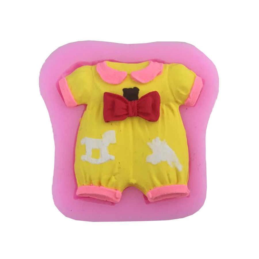 Bayi Mandi Seri Kecantikan Topi mami Gaun High Heel Bentuk 3D Silikon Fondant Cetakan Chocolate Permen Mold Cake Decorating Alat