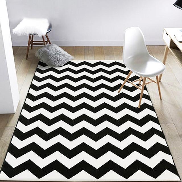 Mode doux flanelle plancher pied porte Yoga tapis salle de bain ...