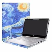 Alapmk Protective Case Cover For 14 HP Pavilion x360 14 baXXX Series Laptop [Not fit Other Models]