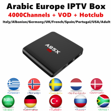 Android TV Box A95X R1 Europe IPTV Subscription Italian French Spanish UK IPTV 8GB Rom 4K HDMI 2.0 For xiaomi Smart IP TV Box