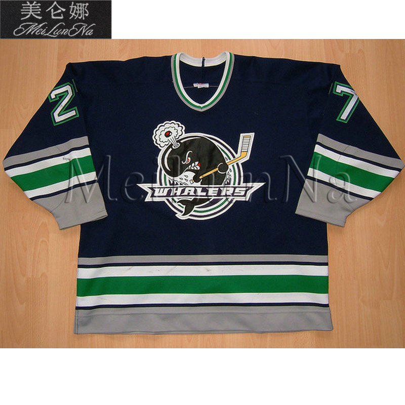 MeiLunNa Customize OHL Detroit Plymouth Whalers Jerseys 9 Tyler Seguin 19 James Neal Stephen Weiss Sewn On Any Name NO. Size цена и фото