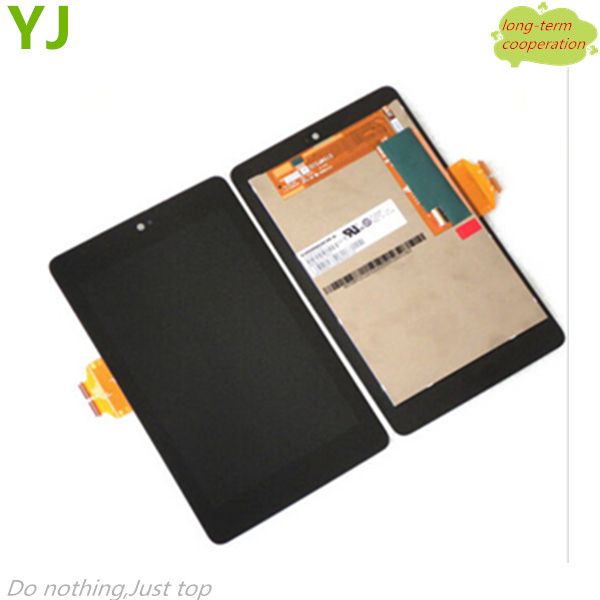 HK free 100% Tested AAA OEM LCD Assembly with Touch Screen Digitizer Replacement for ASUS Google Nexus 7 1st