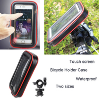 Touch Screen Bicycle Motocycle Bike Mobile Phone Holders Case Bags For Meizu E3 E2 M6s M6