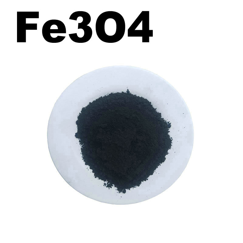 Fe3O4 High Purity Powder 99.9% Iron Oxide Magnetic Conductive Ultrafine Nano Powders About 1 Micro Meter CAS:1317-61-9
