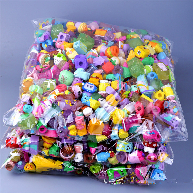50 Pieces/lot HOT!Figures For Toys Fruit Dolls Styles Shop Family Kins Action Figures For Little Figurines Mixed Season