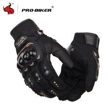 PRO-BIKER мотоциклетные перчатки мужские перчатки для мотокросса полный палец для езды на мотоцикле мото перчатки для мотокросса Guantes перчатки M-XXL
