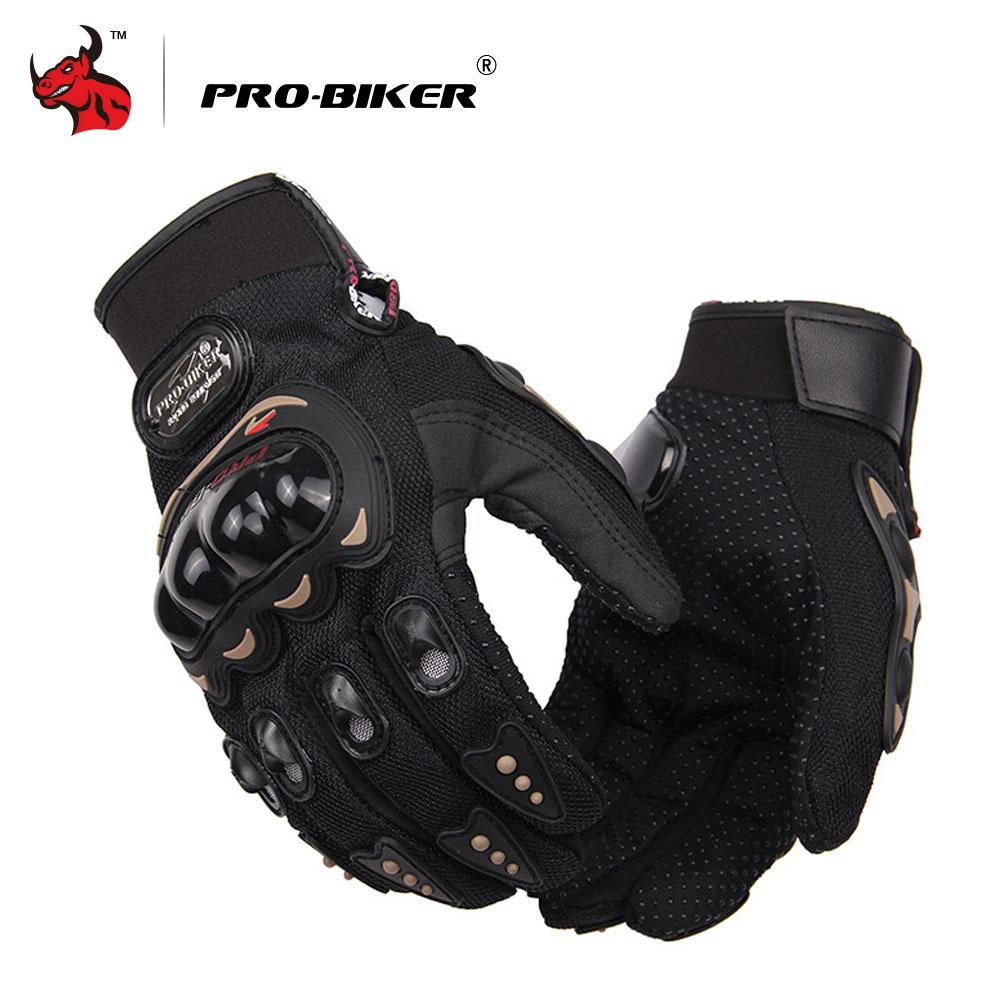 Gants de Moto PRO-motard gants de Motocross hommes gants de Moto à cheval à doigt complet gants de Motocross Guantes M-XXL