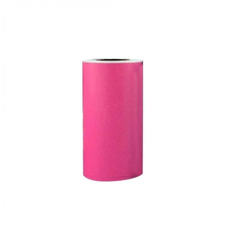 Самоклеющиеся термопечатные бумажные наклейки 57x30 мм термопечатные бумажные наклейки фотопринтер - Цвет: E