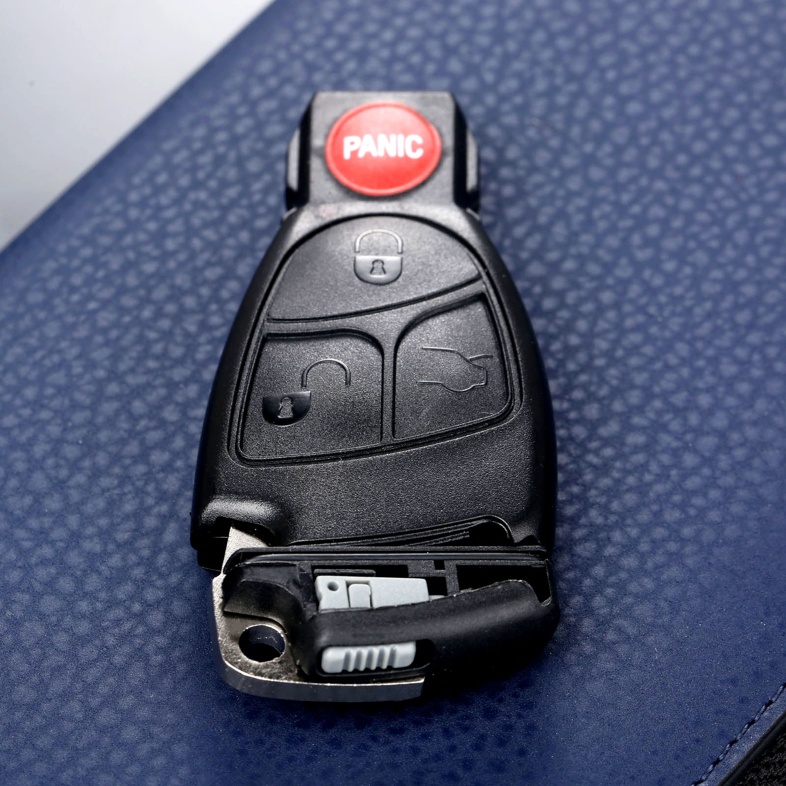 4 Buttons Auto Replacement Remote Car Key Fob Shell Case Battery Clip Key Insert For MERCEDES BENZ S E C R CL GL SL CLK SLK in Car Key from Automobiles Motorcycles
