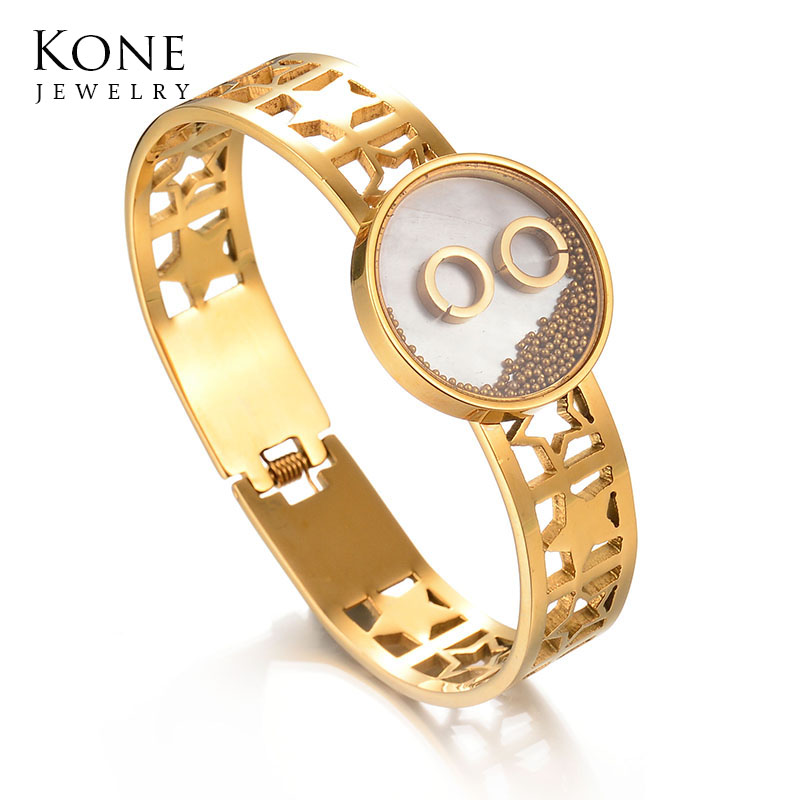 Intellective Women's Fashion Jewelry Gold&silver Color Crystal Simple Charm Anklets Bracelet Jewelry & Watches
