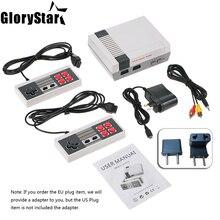 오래 된 스타일 게임 기계 미니 tv 휴대용 게임 콘솔 가족 레크 리 에이션 비디오 게임 콘솔 500 클래식 내장 게임