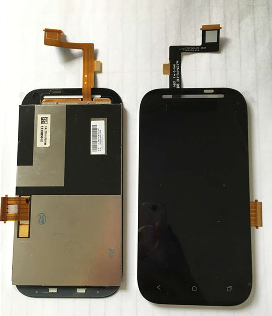 LCD screen display+touch panel digitizer For HTC Desire SV T326E black free shipping