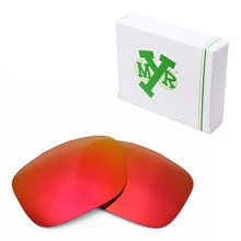 Mryok POLARIZED Replacement Lenses for-Oakley Two Face Sunglasses Fire Red