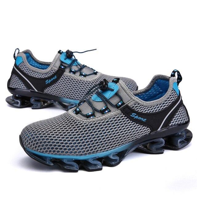 Super Cool Atmungsaktiv Laufschuhe Männer Sneakers Sommer Outdoor Sportschuhe Professionelle Trainingsschuhe gKy1tR