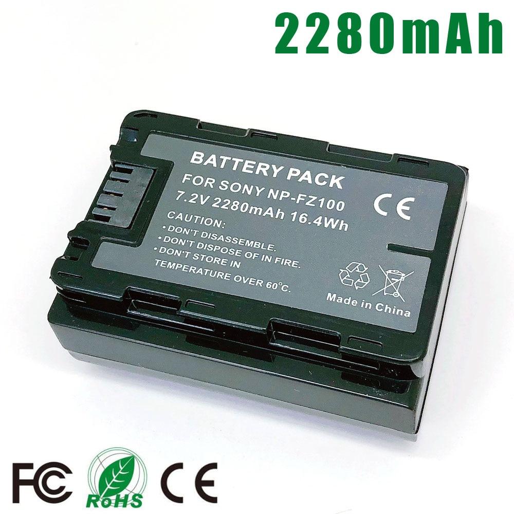 NP-FZ100 NPFZ100 Battery For Sony BC-QZ1 A9 A7R A7 Mark III A7RIII A7III ILCE-9 ILCE9 ILCE-7RM3 7M3 As A7m3 A7r3 A9R Alpha 9 9S