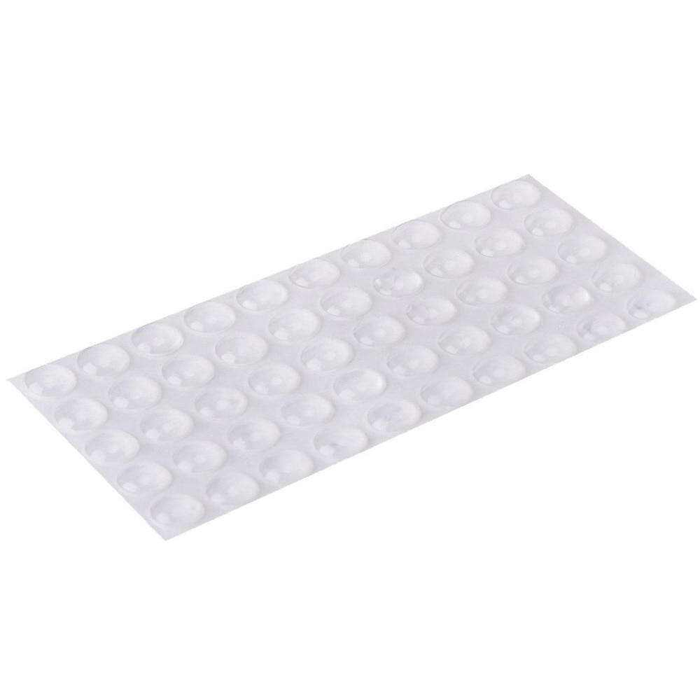 50/100pcs Rubber Bumper Damper Rubber Feet Pads Hemispherical Shape 6*2mm Silicone Feet Pads Furniture Legs Anti Slip Durable