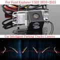 Car Intelligent Parking Tracks Camera FOR Ford Explorer U502 / Back up Reverse Camera / Rear View Camera / HD CCD Night Vision