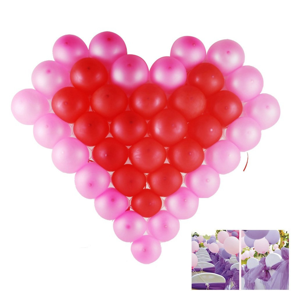 Feier Party Us 4 8 Balloons 100stuck Perlglanz Latex Luftballons Feier Party Hochzeit Geburtstag Deko Neu Ballons In Ballons Accessories From Home Garden On