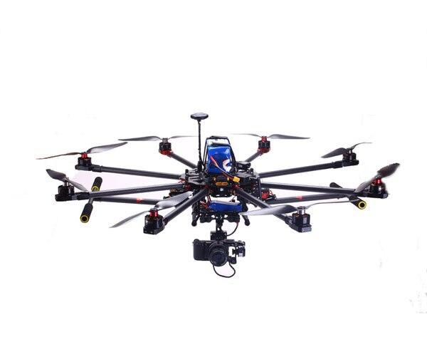 Skyhawkrc F900 octocopter rtf antenne fotografie