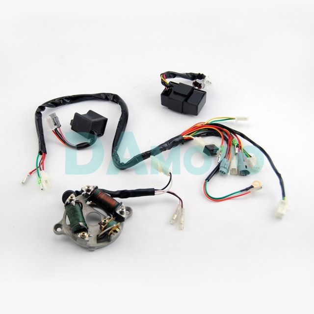 WIRING HARNESS Loom Ignition Switch CDI Unit Magneto Stator ASSEMBLY for YAMAHA PW50_640x640 wiring harness loom ignition switch cdi unit magneto stator pw50 wiring harness at fashall.co