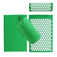 Massage Spike Yoga Mat Barbed Exercise Slim Fitness Pilates Massage Yoga Mat with Bag Acupressure Mat Banlance Pad