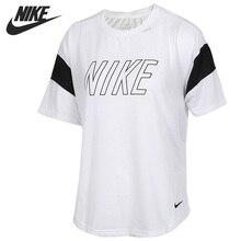 Оригинальное новое поступление футболка Nike CRW SS FAM GRX женские футболки с коротким рукавом спортивная одежда