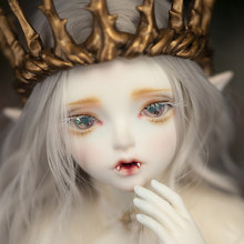 Free Shipping Minifee Hwayu Vampire ELF BJD Doll 1/4 Sunshine Girl Thick Lips Love Smile Pretty Toy For Girls Fairyland MNF(China)
