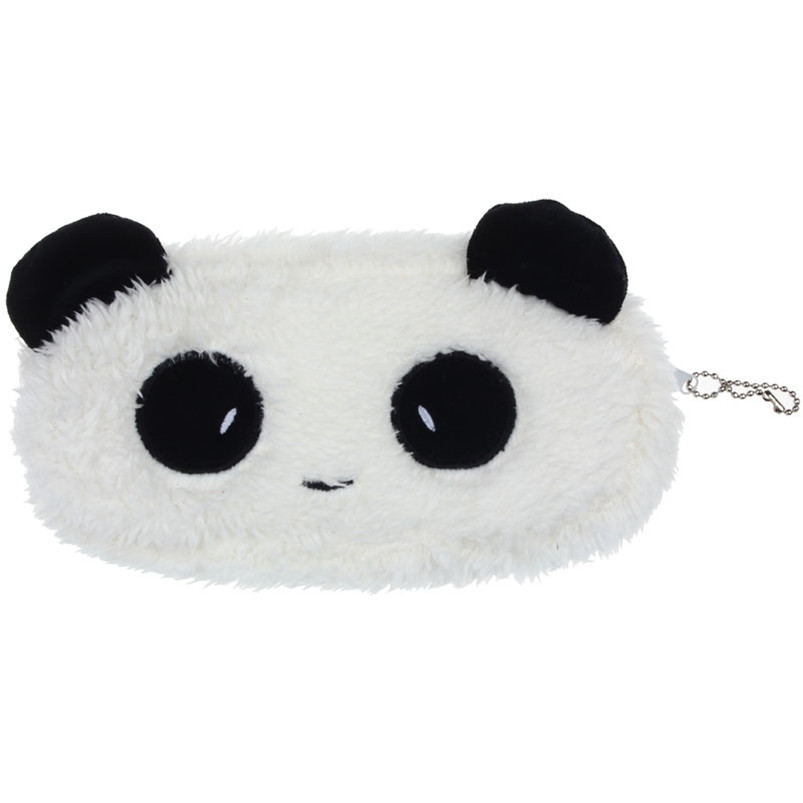 Fashion Newly Design Plush Panda Pen Pencil Case Cosmetic Makeup Bag Coin Purse Wallet economic newly design 2 4mx1 2mx3cm cheap gymnastic mats