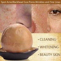 Tốt nhất chăm sóc da mặt thảo dược Trung Quốc tự nhiên tăng bản chất xà phòng trên khuôn mặt 100g làm trắng điều trị mụn loại bỏ mụn đầu đen anit- nhăn