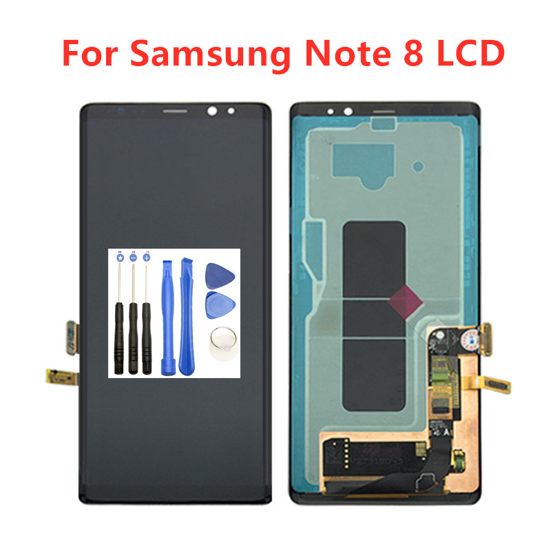 Worldwide delivery galaxy note 8 n950f lcd in Adapter Of NaBaRa
