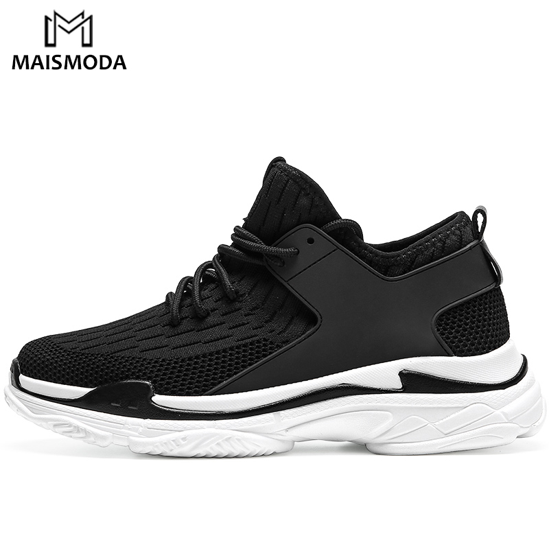 MAISMODA 2018 New Simple Men Running Shoes Summer Breathable Mesh Sneakers Male Outdoor Sport Light Trainers Shoes YL212 1