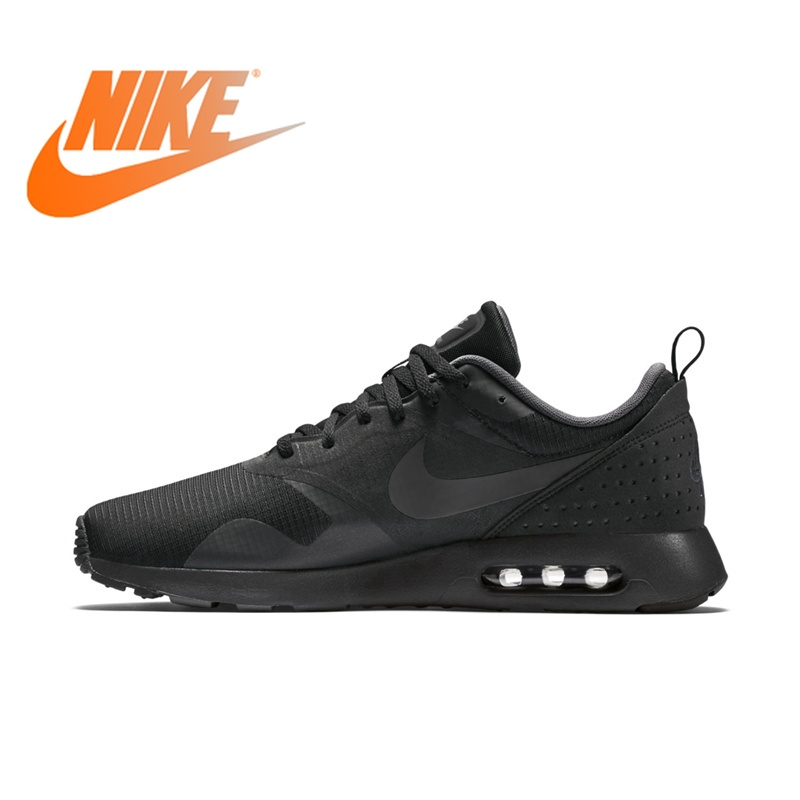 889db3f9766 Original NIKE Air Max TAVAS Men s new Breathable Running Shoes Lace-up  Low-cut