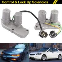 New Shift Control Lock Up Solenoids For Honda Accord Prelude AT Transmission 28300-PX4-003 DXY88