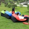 3 Season Sofa Bean Outdoor Nylon Waterproof Fast Inflatable Sleeping Bag Soft Beach Sofa Lounger Bed