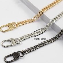 1cbf87d38886 Free shipping DIY bag strap chain Wallet handle purse metal strap chain  strap replaced bag strap